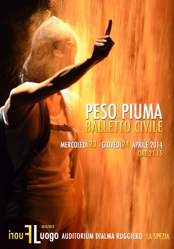 manifesto BALLETTO CIVILE peso piuma